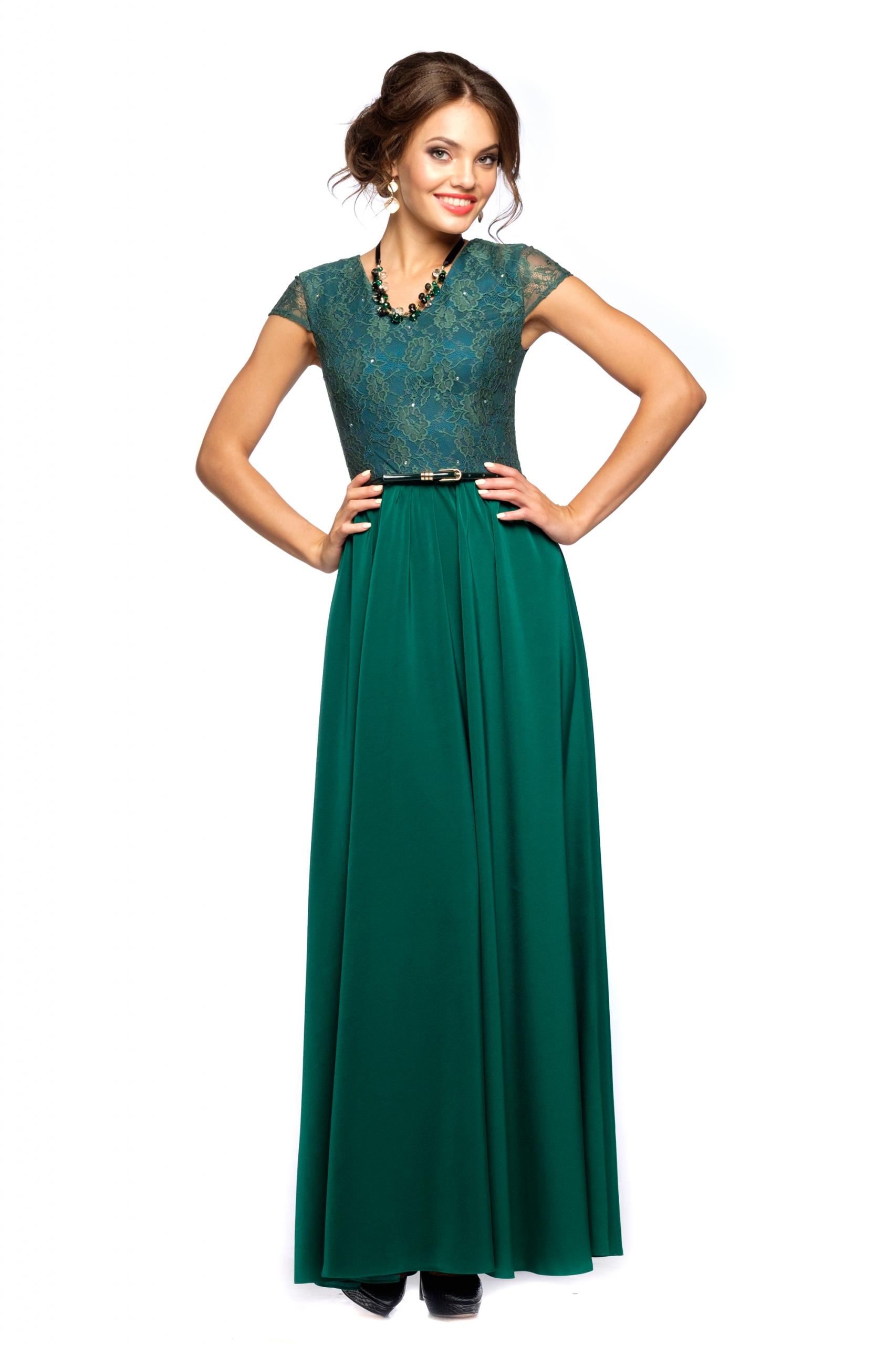Платья изумрудного цвета сшить фото 7