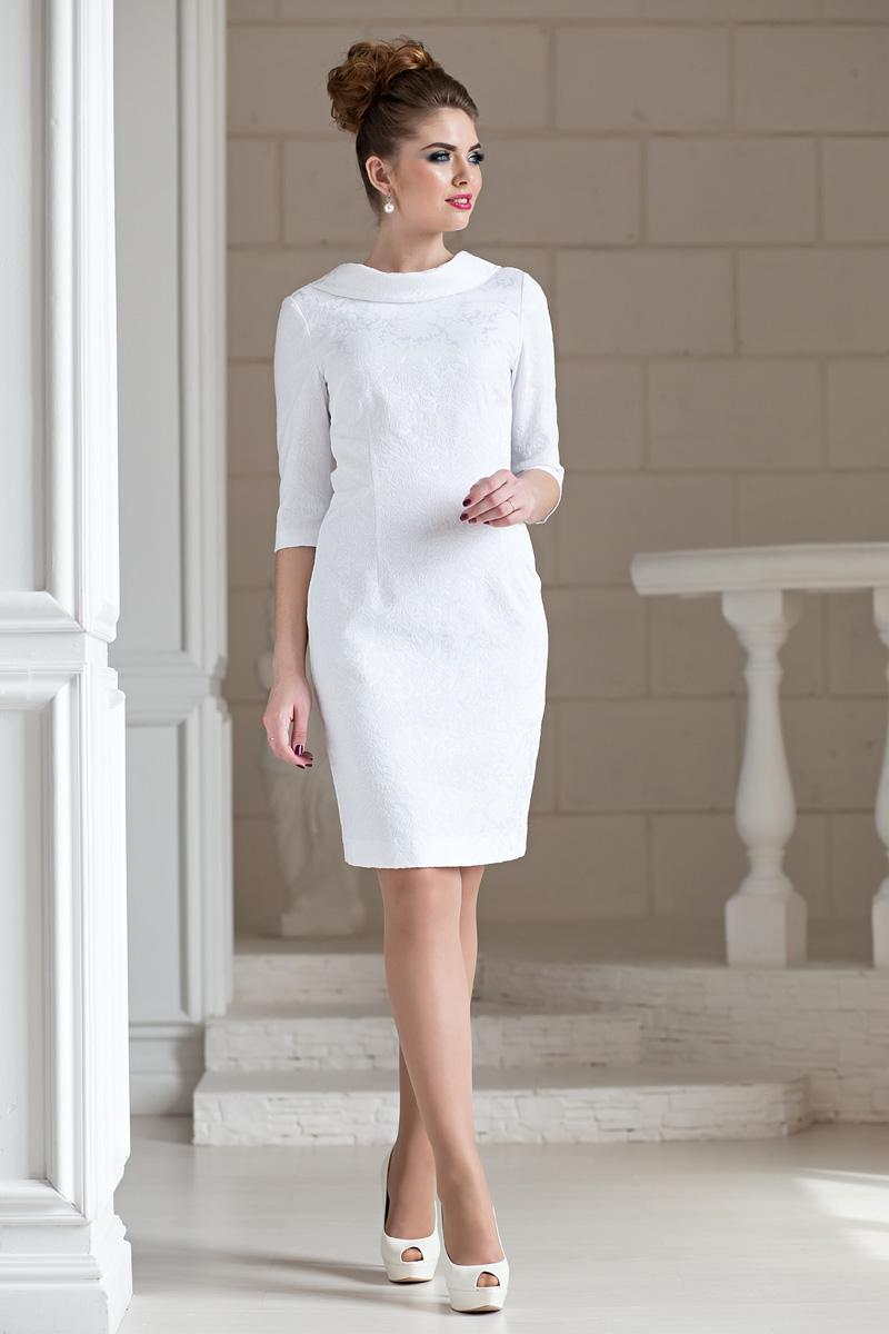 365185b0a73 Фото Белое Платье Футляр